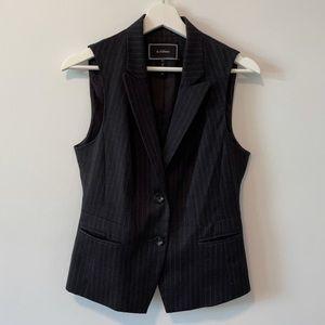 Le Chateau Striped Blazer Vest